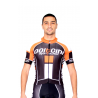 Cycling Jersey Short Sleeves PRO orange - NAPOLI