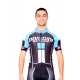 Cycling Jersey Short Sleeves PRO blue - NAPOLI