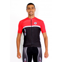 Cycling Jersey Short Sleeves elite red- TOLEDO