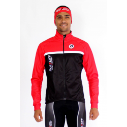 Cycling Jacket winter classic red- TOLEDO