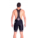 Cycling Pant Bib with pad Long Distance uni pro - black