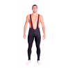 Cycling BibTight with pad Uni Long Distance winter - black