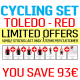 Cycling SET - Toledo red