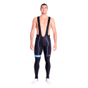 Cycling Bibtight winter pro with pad Blue - HERO