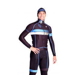 Cyclisme à Veste Winter pro Blue - HERO