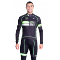 Cycling Jersey Long sleeves Fluo/Green - HERO
