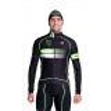 Cycling Jacket Winter pro Fluo/Green - HERO