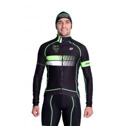 Cyclisme à Veste Winter pro Fluo/Green - HERO