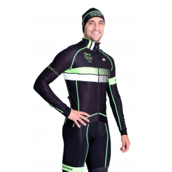 Cyclisme à Veste Winter pro Fluo/Green - HERO