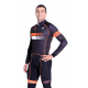 Cycling Jersey Long sleeves Fluo/Orange - HERO