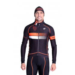 Cyclisme à Veste Winter pro Fluo/Orange - HERO