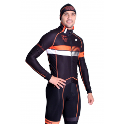 Cyclisme à Veste Winter pro Fluo/Orange - HERO