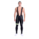 Cycling Bibtight winter pro with pad Fluo/Yellow - HERO