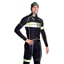 Cycling Jacket Winter pro Fluo/Yellow - HERO