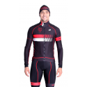 Cycling Jacket Winter pro Red - HERO