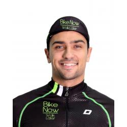 Лятна колоездачна шапка Долчини HERO, Черен/Зелен