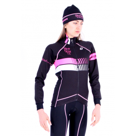 Cycling Jacket Winter pro Fluo/Pink - HERO