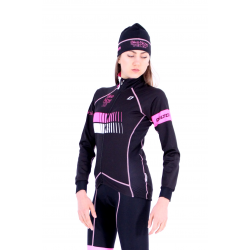 Cycling Lady Jacket Winter pro Fluo/Pink - HERO