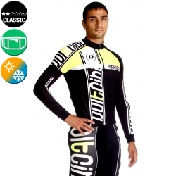 Cycling Jersey Long Sleeves fluo - MADRID