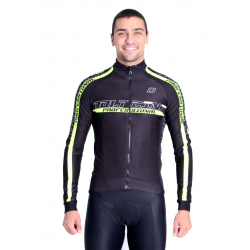 Cycling Jacket Winter pro Fluo/Yellow - PROFESSIONAL