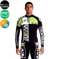 Cycling Jersey Long Sleeves green - MADRID