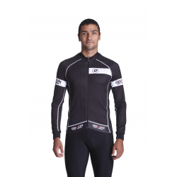 Cycling Jersey Long Sleeves SUMMER PRO - CLASSICO WHITE