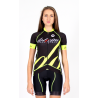 Cycling Jersey Short Sleeves PRO - BIANCA FLUO