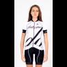 Cycling Jersey Short Sleeves - BIANKA white