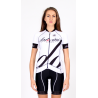 Cycling Jersey Short Sleeves - BIANKA white