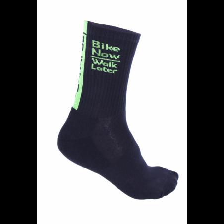 Socks High Winter HERO black-fluo