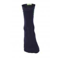 Чорапи високи зимни, HERO black-fluo