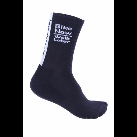 Чорапи високи зимни HERO black-white