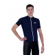 Cycling Jersey Short Sleeves Uni Dark Blue