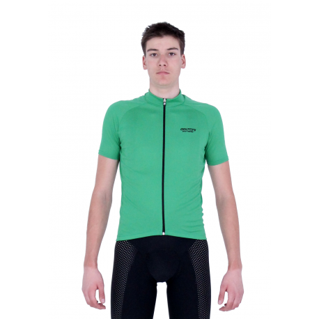 Cycling Jersey Short Sleeves Uni Green