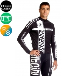 Cycling Jersey Long Sleeves black - MADRID