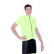 Cycling Jersey Short Sleeves Uni Dark Fluo