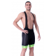 Cycling Pant Bib - Long Distance Fluo Green PRO