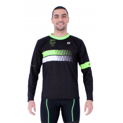 T-shirt long sleeves Fluo Green