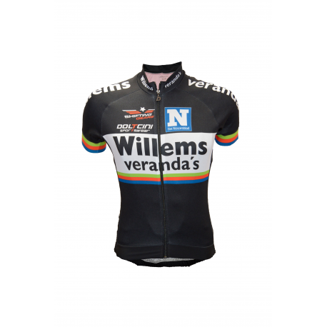 Cycling Jersey Short Sleeves Elite Willems Veranda