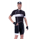 Cycling Jersey Short sleeves pro White - HERO