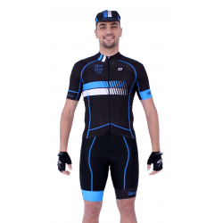 Cycling Jersey Short sleeves pro Blue - HERO
