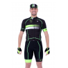 Cyclisme à Maillot manches courtes pro Fluo/Green - HERO