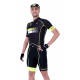 Cycling Jersey Short sleeves pro Fluo/Yellow - HERO