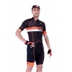 Cycling Jersey Short sleeves pro Orange - HERO