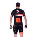 Cycling Jersey Short sleeves pro Orange - HERO