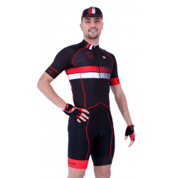 Cycling Jersey Short sleeves pro Red - HERO