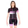 Cyclisme à Maillot manches courtes Fluo/Pink - HERO