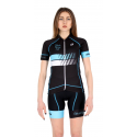 Cycling Jersey Short sleeves Turquoise - HERO