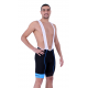Cycling Pant Bib pro with pad Blue - HERO