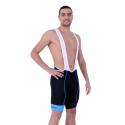 Cycling Pant Bib pro with pad Blue - HERO